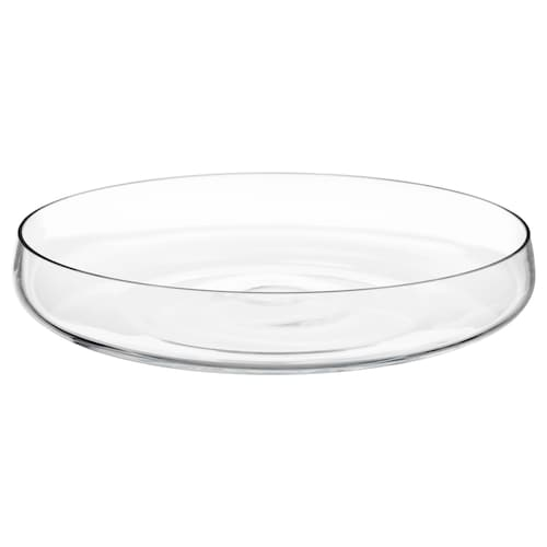 BERÄKNA bowl clear glass 26 cm