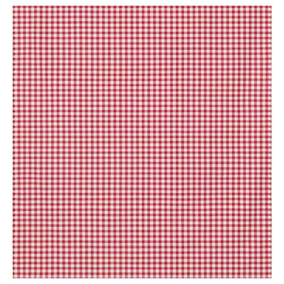BERTA RUTA Fabric, medium check/red, 150 cm