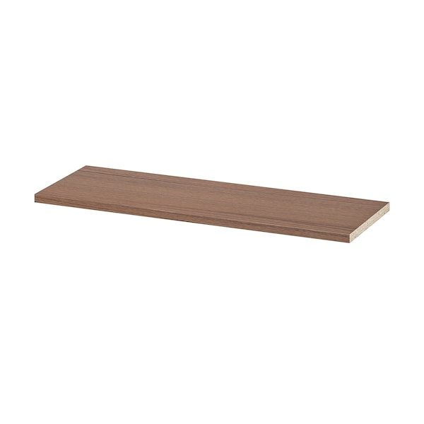 BILLY extra shelf brown ash veneer 76 cm 26 cm 2 cm 30 kg
