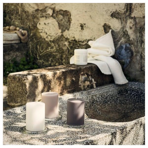 BLOMDOFT كتلة شمع معطر, الزنبق/رمادي, 10 سم