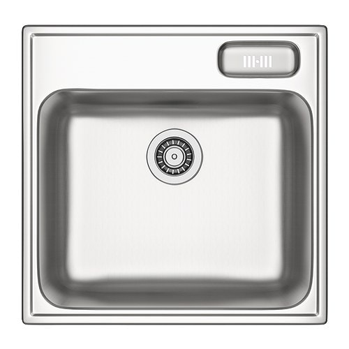 BOHOLMEN Single-bowl inset sink   25 year guarantee.   Read about the terms in the guarantee brochure.