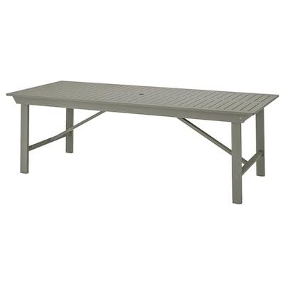 BONDHOLMEN طاولة، خارجية, رمادي, 235x90 سم