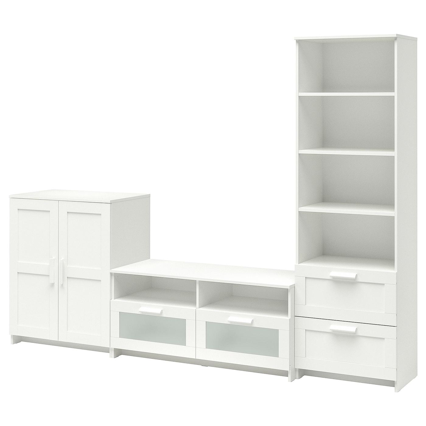 Brimnes Tv Storage Combination White Ikea
