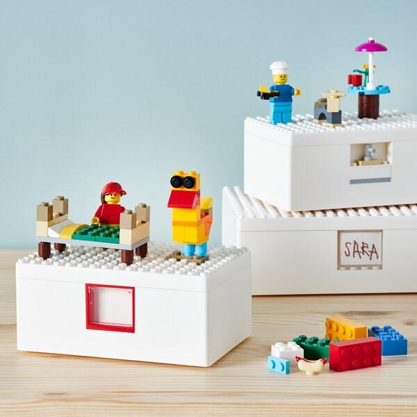 BYGGLEK مكعبات LEGO® طقم 201 قطعة, ألوان مختلطة