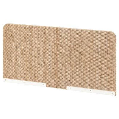 DELAKTIG Headboard, rattan, 160 cm