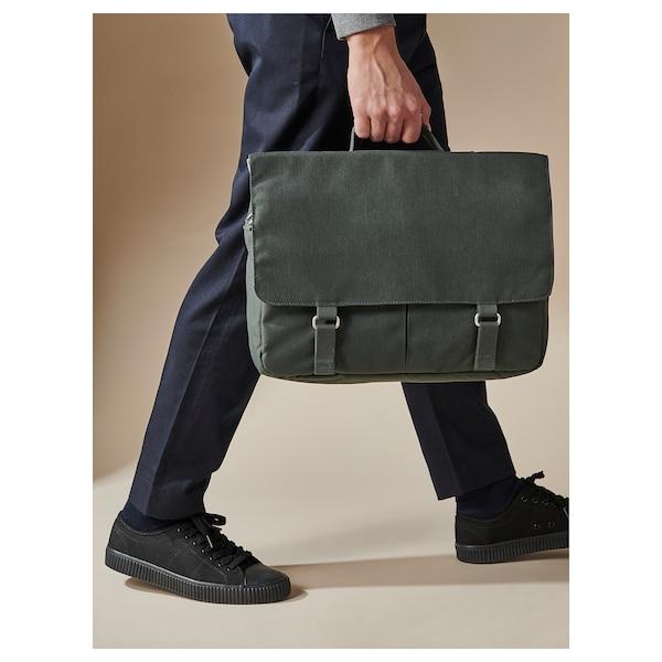 DRÖMSÄCK حقيبة بحزام, أخضر زيتوني, 14 ل