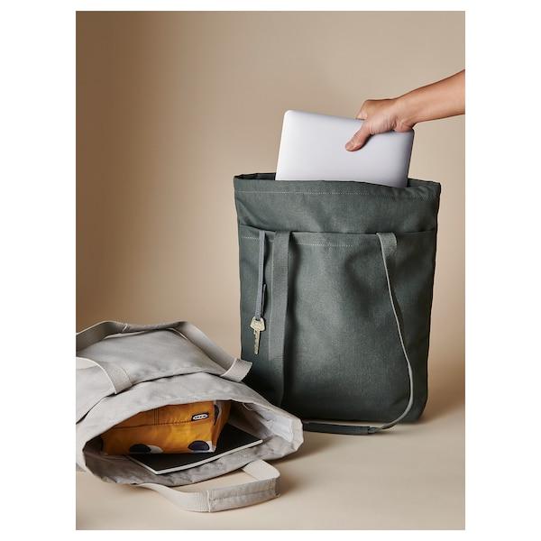 DRÖMSÄCK حقيبة, أخضر زيتوني, 14 ل