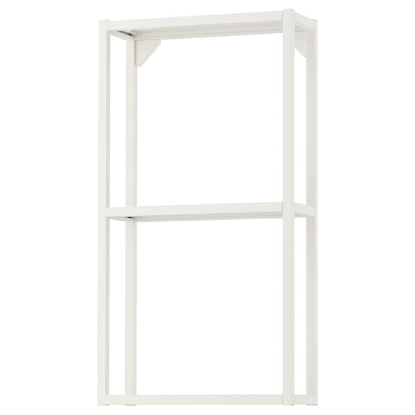 ENHET هيكل حائط مع أرفف, أبيض, 40x15x75 سم