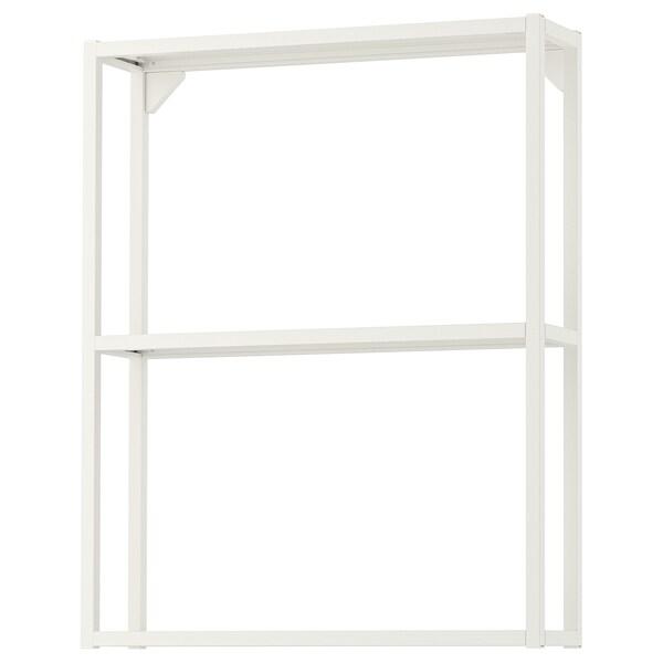 ENHET هيكل حائط مع أرفف, أبيض, 60x15x75 سم
