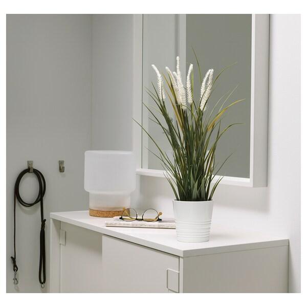 FEJKA نبات صناعي في آنية, داخلي/خارجي زينة/عشب, 9 سم