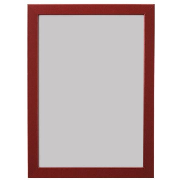 FISKBO Frame, dark red, 21x30 cm