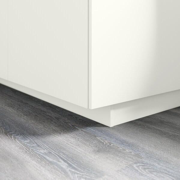 FÖRBÄTTRA قاعدة, أبيض, 220x8 سم