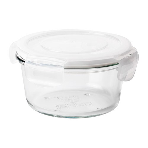 FÖRTROLIG Food container   Snap-and-lock lid creates an aroma-tight seal, so the food you store in the food container stays fresh for longer.