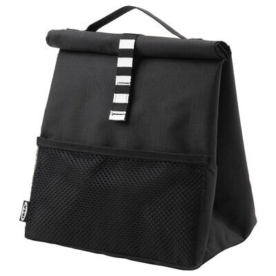 FRAMTUNG Lunch bag, black, 22x17x35 cm