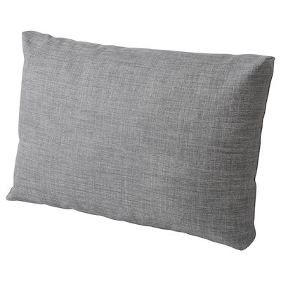 FRIHETEN Cushion, Skiftebo dark grey, 67x47 cm
