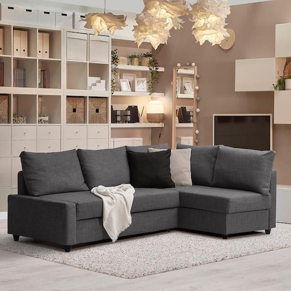 FRIHETEN Cushion   Skiftebo dark grey   IKEA