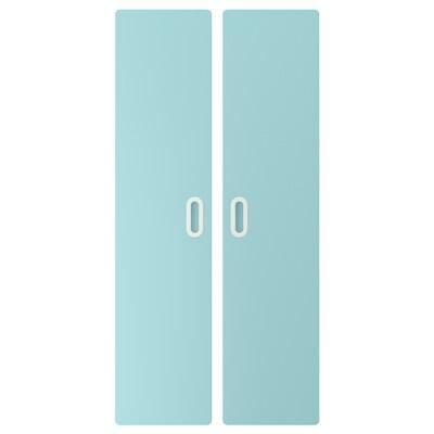FRITIDS باب, أزرق فاتح, 60x128 سم 2 قطعة