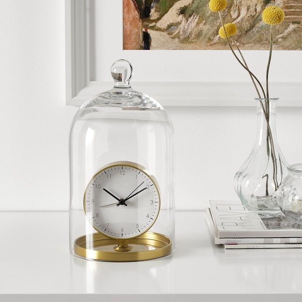 GÄNGA ساعة منبهة, لون نحاسي, 13 سم