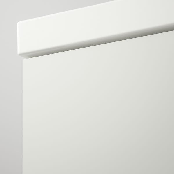 GODMORGON / ODENSVIK Bathroom furniture, set of 4, high-gloss white/Dalskär tap, 63 cm