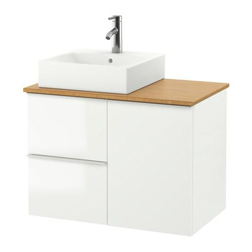 Ikea Basins: GODMORGON/TOLKEN / TÖRNVIKEN Wash-stand With 45x45 Wash