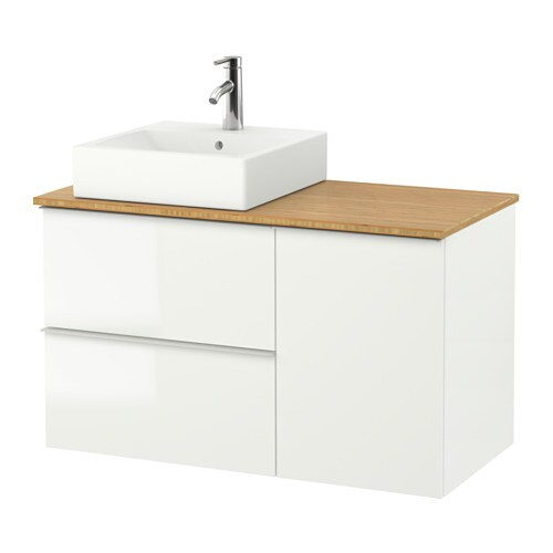 Godmorgon tolken t rnviken wash stand with 45x45 wash for Meuble 45x45