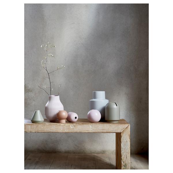 GRADVIS Vase, pink, 21 cm