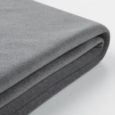GRÖNLID غطاء كنبة-سرير 3 مقاعد/أريكة طويلة, Ljungen رمادي معتدل
