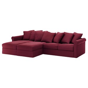 Cover: With chaise longues/ljungen dark red.