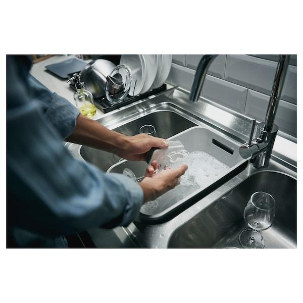 GRUNDVATTNET وعاء غسل الصحون, رمادي