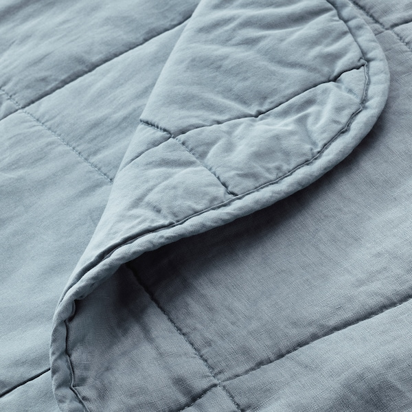 GULVED غطاء سرير, أخضر, 260x250 سم
