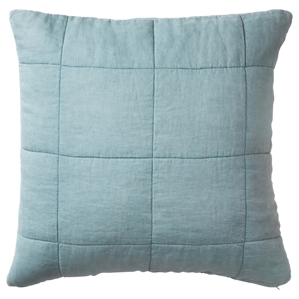 GULVED Cushion cover, green, 65x65 cm