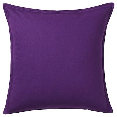 GURLI Cushion cover, dark lilac, 65x65 cm