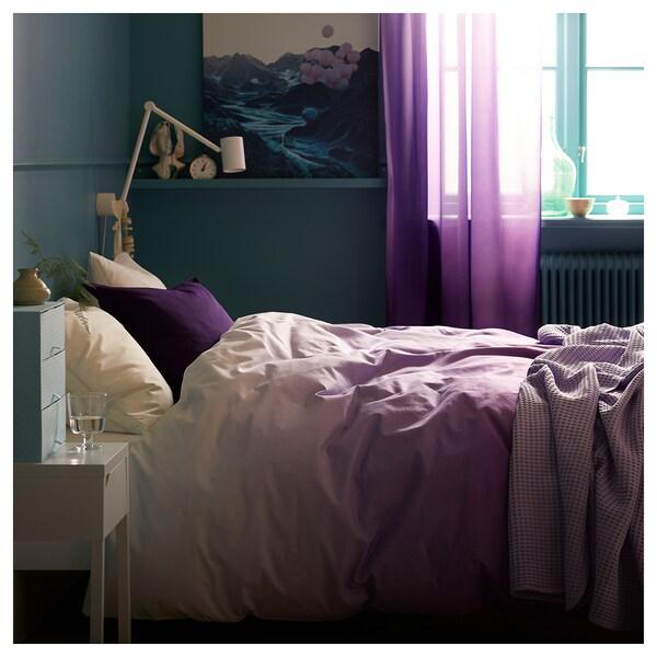 GURLI Cushion cover, dark lilac, 50x50 cm