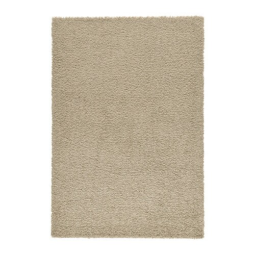 HAMPEN Rug, high pile   Durable, stain resistant and easy to care for since the rug is made of synthetic fibres.