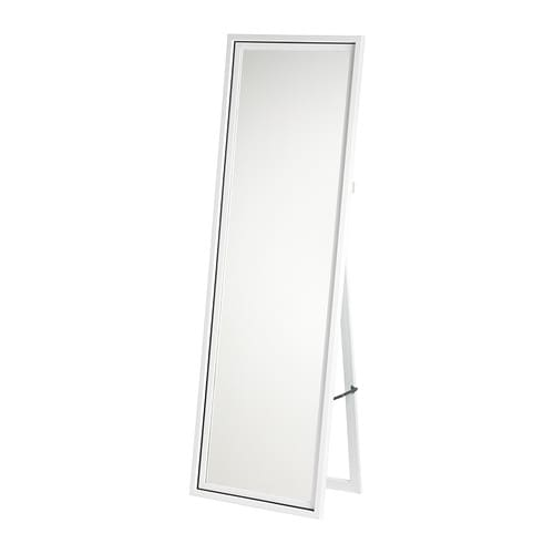 HARRAN Standing mirror   Provided with safety film - reduces damage if glass is broken.