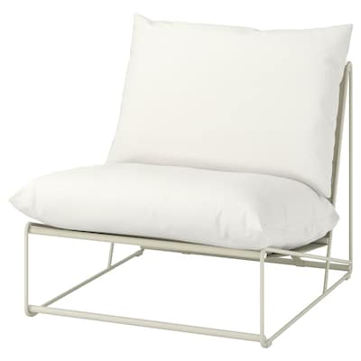 HAVSTEN Easy chair, in/outdoor, beige, 83x94x90 cm
