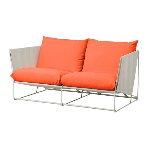 Ikea Orange Sofa: HAVSTEN 2-seat Sofa, In/outdoor