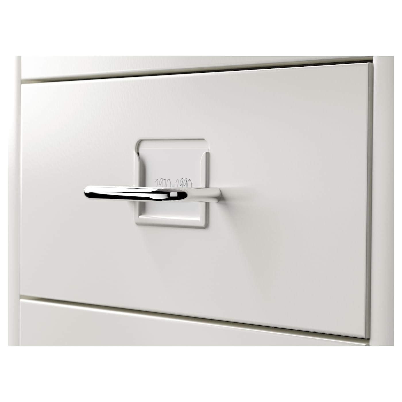 Helmer Drawer Unit On Castors White