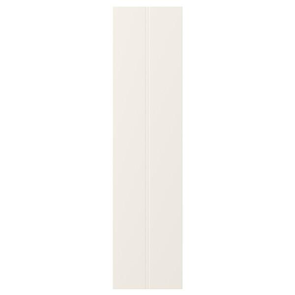 HITTARP باب, أبيض-عاجي, 20x80 سم