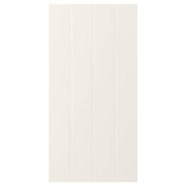 HITTARP باب, أبيض-عاجي, 40x80 سم