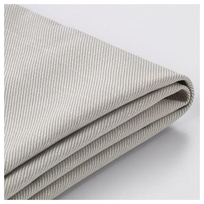 HOLMSUND غطاء لكنبة-سرير زاوية, Nordvalla بيج