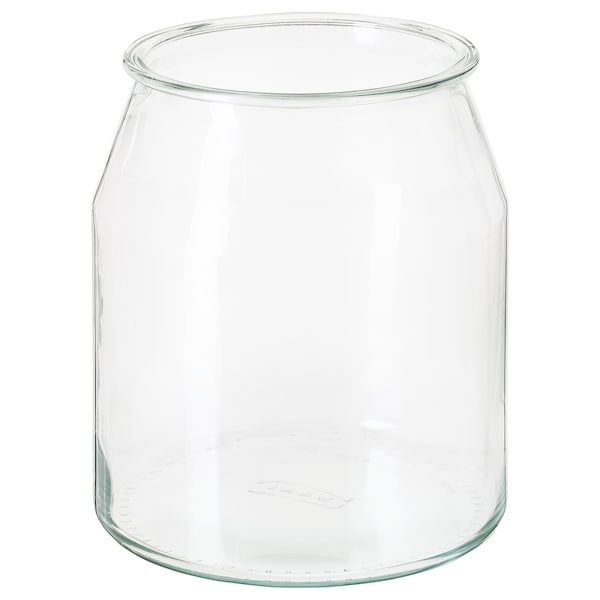 IKEA 365+ jar round/glass 19 cm 17 cm 3.3 l