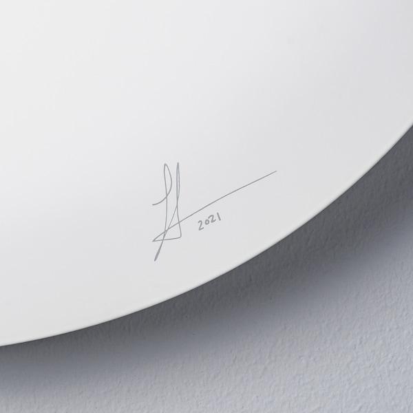 IKEA ART EVENT 2021 مصباح حائط LED, أبيض, 40 سم