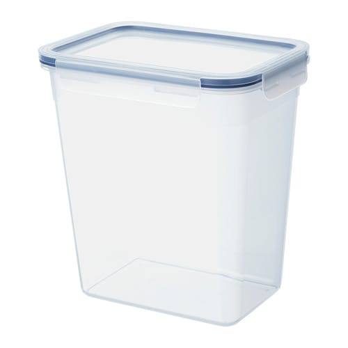 Ikea 365 Food Container With Lid Rectangular Plastic