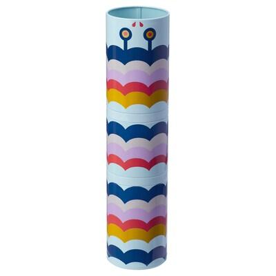 ILLBATTING صندوق زينة, عدة ألوان/معدن, 6x25 سم