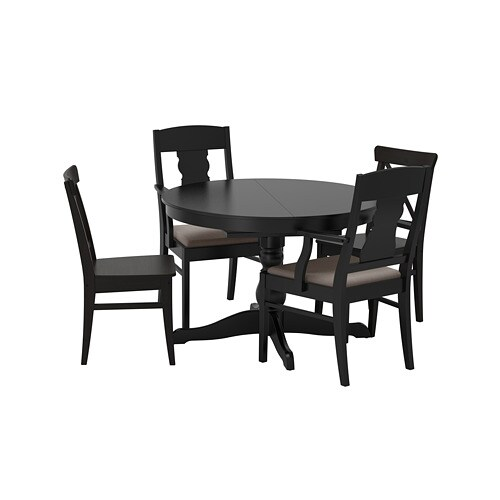 INGATORP / INGOLF Table And 4 Chairs