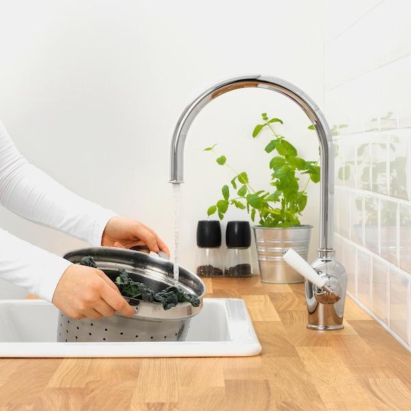 INSJÖN Kitchen mixer tap, chrome-plated