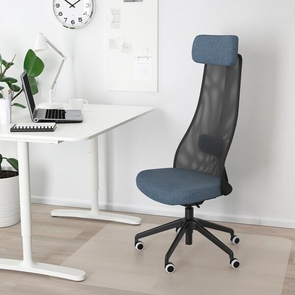 JÄRVFJÄLLET كرسي مكتب, Gunnared أزرق