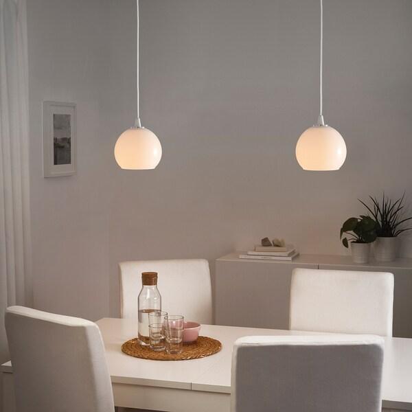 JAKOBSBYN Pendant lamp shade, white, 15 cm