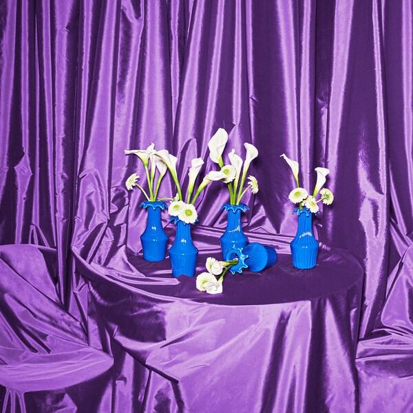 KARISMATISK Vase, blue, 23 cm